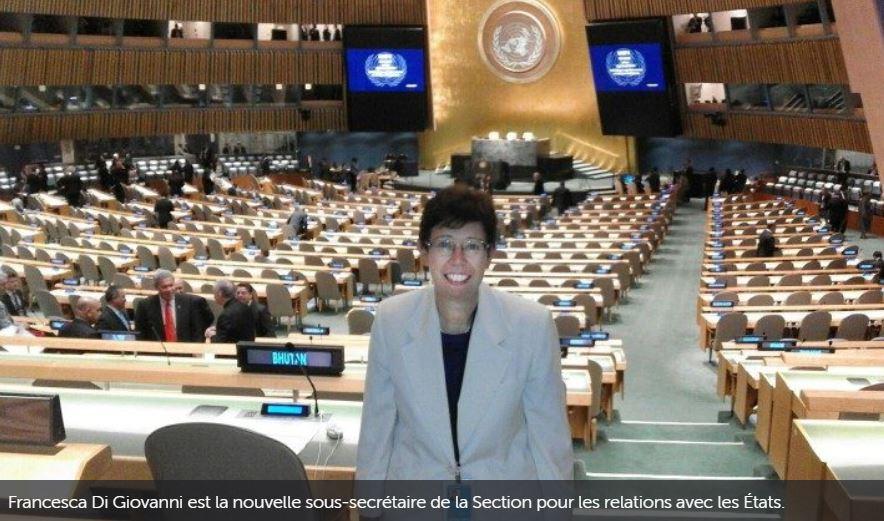 Le Vatican nomme une femme comme sous-secrétaire pour les Relations avec les États
