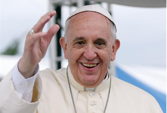 """Le Pape François: """"je suis toujours en vie"""""""