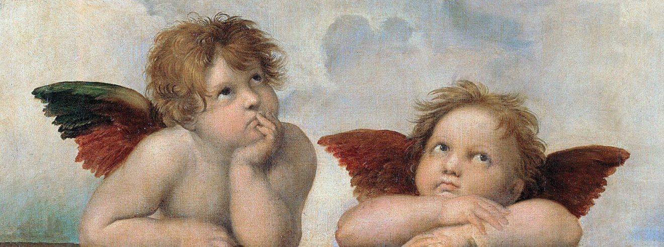 Putti du peintre italien de la Renaissance Raphaël