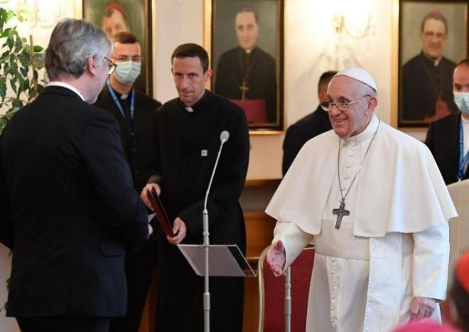 A Bratislava, l'appel du pape à l'Europe